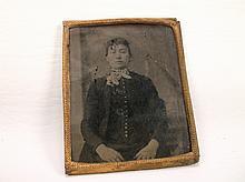 Antique Tin Type Photograph
