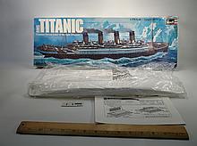 Rare 1976 Revell Titanic Ship Model In Sealed Bag