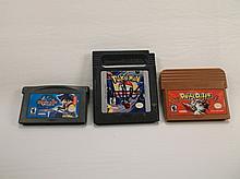 3 Nintendo Game Boy Advance Games Lot Pokemon Etc