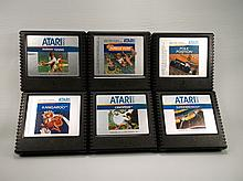 6 Nice Vintage Atari 5200 Games Ex Condition