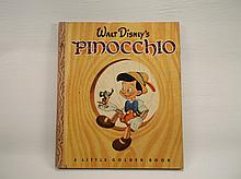 1948 Disney Pinocchio Golden Book