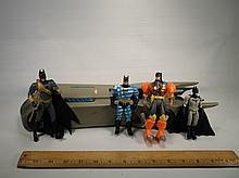 Batmobile & Batman Action Figures Lot