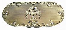 Antique Gold Snuff Trinket Box