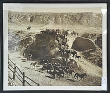 Pair of Western Photos by CW Herbert