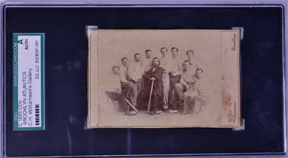 1865 Brooklyn Atlantics CDV