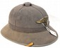 Nazi German Pith Helmet with eagle and Swastika Insignia