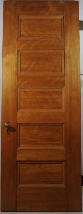 5 Panel Oak Door 80Hx29and3/4Wx2and1/8D