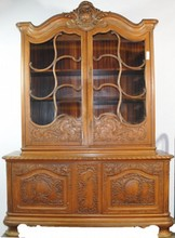 Two Piece Cherry Hutch 76
