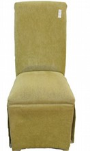 High Back Modern Upholstered Chair