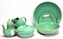 Gladden McBean 8 Piece Serving Set