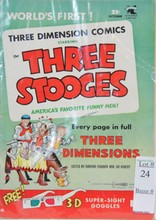 1953 Volume 1 The Three Stooges with 3D Glasses