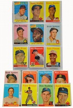 67 1958 Topps cards