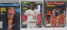 Collection of 135 Sports Illustrated 1955-1979