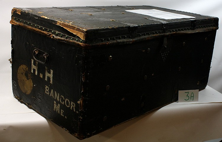 Vice President Hannibal Hamlin's Trunk with Provenance