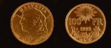 Union latine, Collection Numismatique Or et Argent
