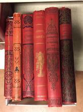 Lot de livres début du siècle reliés dont C.  De Tours Le train d'Orient, Roger de Beauvoir Légion étrangère, P.Calmettes A travers les métiers, A.