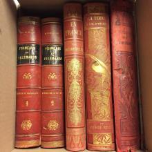Lot de livres.