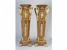PAIR OF FRENCH PLINTHS, 19th-20th CENTURY