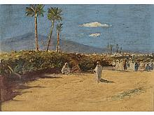 MARIANO BERTUCHI (Granada, 1884-Tetuán, 1955) - Moroccan landscape