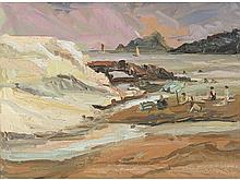 SALVADOR FERRER MARTÍ (Cullera, 1939) - An afternoon in Moraira