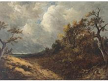 JOSÉ ARMET (Barcelona, 1843-1911) - Wooded landscape