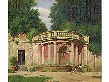 JOSÉ VILLEGAS (Seville, 1844-Madrid, 1921) - Fountain