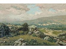 JOSÉ FRANCO CORDERO (1851-1910) - Landscape