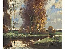 JUAN ANTONIO PORCAR (Castellón, 1889-1974) - Trees