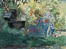 EMILIO GRAU SALA (Barcelona, 1911-Paris,1975) - Maternidad en el parque
