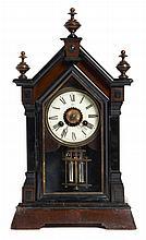 TABLE CLOCK JUNGHNAS CIRCA 1890