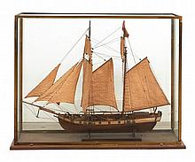 SHIP MODEL EARLY 20th CENTURY
