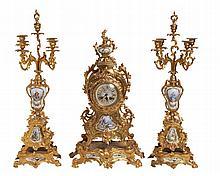 TABLE CLOCK LOUIS XVI STYLE