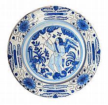 PORTUGUESE PLATE 17th CENTURY