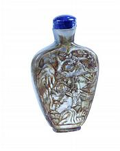 FIRST HALF 20th CENTURY CHINESE SNUFF BOTTLE