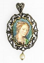 MEDAL-CAMEO 1940'S
