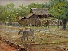 Sym (Sofronio Y. Mendoza) -The Cow