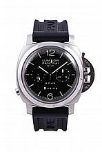 PANERAI - Limited Edition Luminor 1950 8 Days Chrono Monopulsante GMT Ref. PAM 00275, 44mm