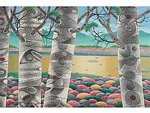 Prudencio Lamarroza - Tree Scape