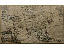 Herman Moll - To the Right Honorable William Lord Cowper Lord High Chancellor of Great Britain This Map of Asia according to ye Newest & Most Accurate Observations