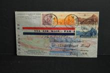 1937 Commemorating the first flight China-USA