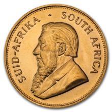 1oz .9999 Fine Gold South African Krugerrand