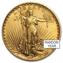 1oz .9999 Fine Gold $20 Saint Gaudens Double Eagle
