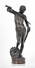 Antonin Mercie (FR 1845-1916) David & Goliath bronze