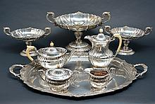 Sterling Tea & Coffee Service, Finnigan Ltd., Manchester
