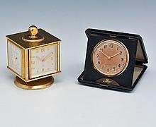 (2) IMHOF Weather Clock & Waltham Travel clock