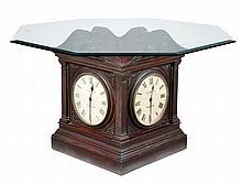 Unusual 4-Sided Clock