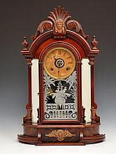 Ansonia Triumph Walnut Mantle Clock
