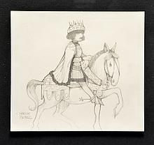 Charles Bragg Original Drawing,