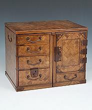 Japanese portable writing desk, Meiji period