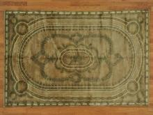 6'x9' Modern Nepali French Design Oriental Rug Hand Knotted 100% Wool